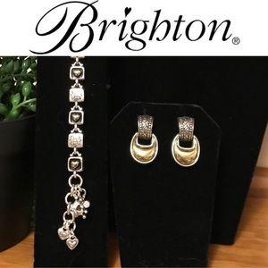 🎉SALE!!🛍 Brighton Earrings and Bracelet Bundle